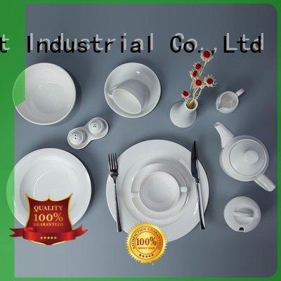 Two Eight Brand dinnerware white smoothly white dinner sets