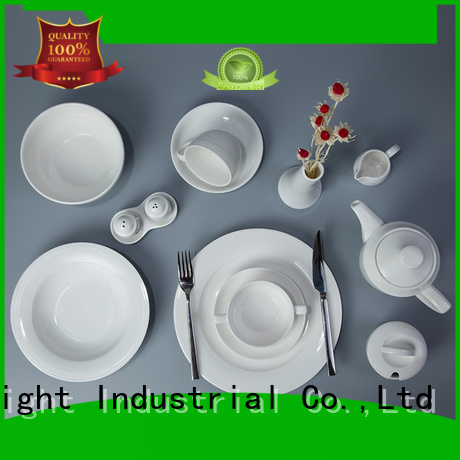 Hot white dinner sets french Two Eight Brand