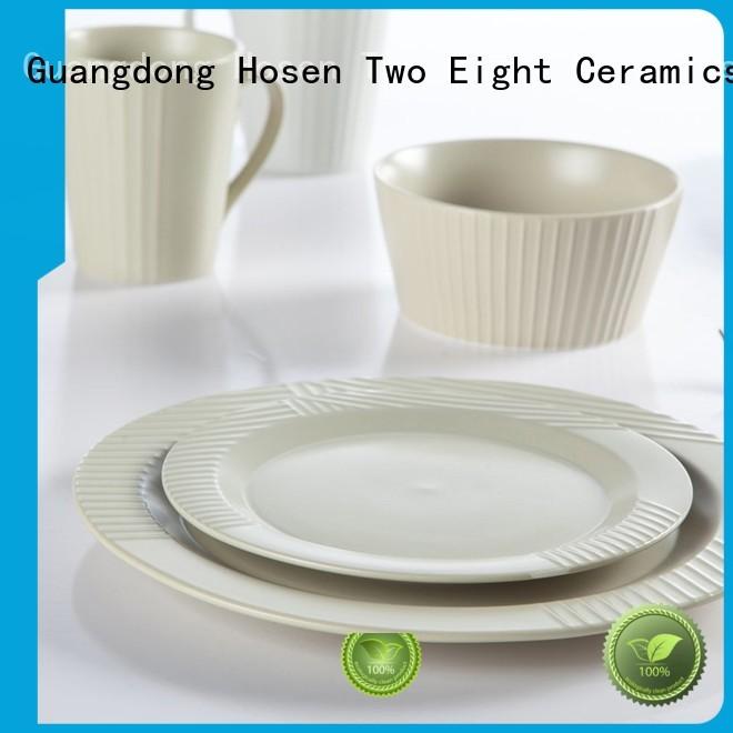Two Eight elegant porcelain dinner sets for 12 tc16 for bistro