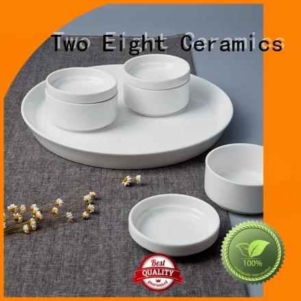 Two Eight modern bone china tea set Vietnamese for bistro