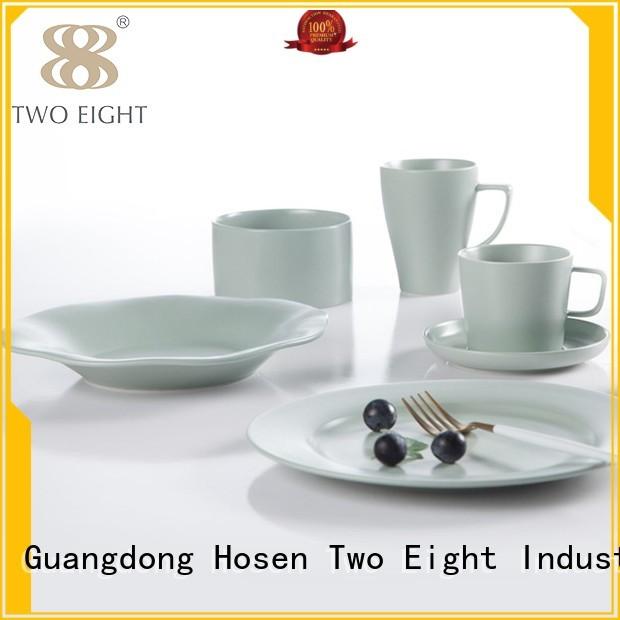bistro rim modern two eight ceramics mixed Two Eight Brand