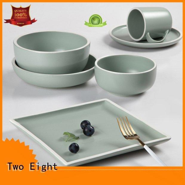 16 piece porcelain dinner set hong jade Two Eight Brand