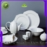 everyday white porcelain dinnerware french style for dinning room Two Eight