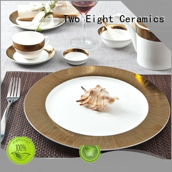 fine white porcelain dinnerware bone two eight ceramics Two Eight Brand
