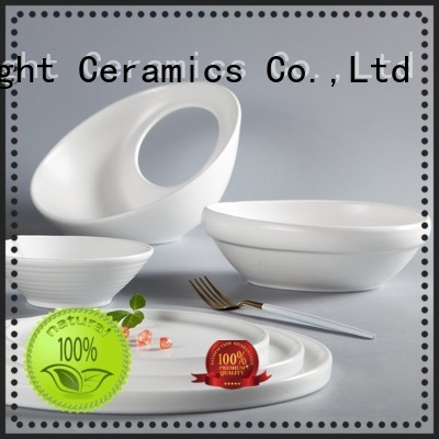 smoothly hotel collection porcelain dinnerware black from China for restaurant