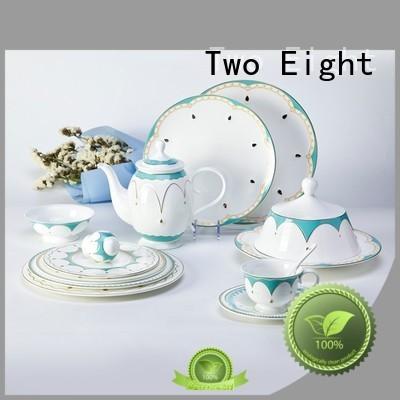 Two Eight fashion fine bone china england supplier for restaurant