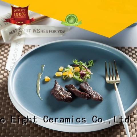 durable restaurant grade plates glaze series for dinner
