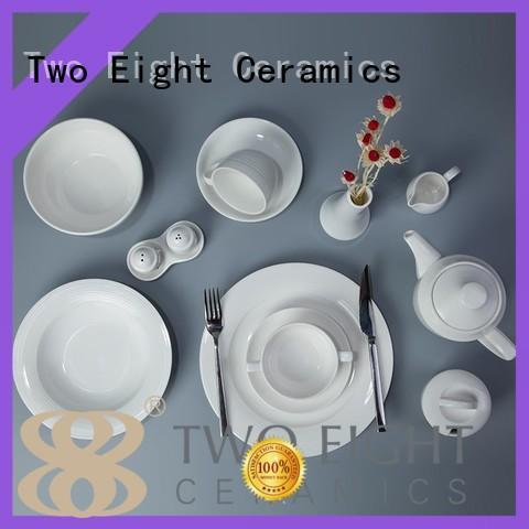 ivory crockery set for restaurant German style customized for restaurant