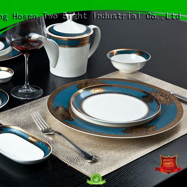 fine white porcelain dinnerware teahouse flower fine china tea sets