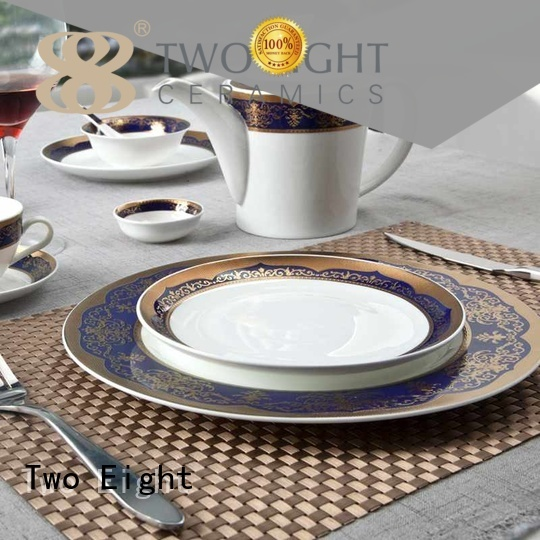 porcelain italian dinnerware two eight ceramics hotel Two Eight Brand