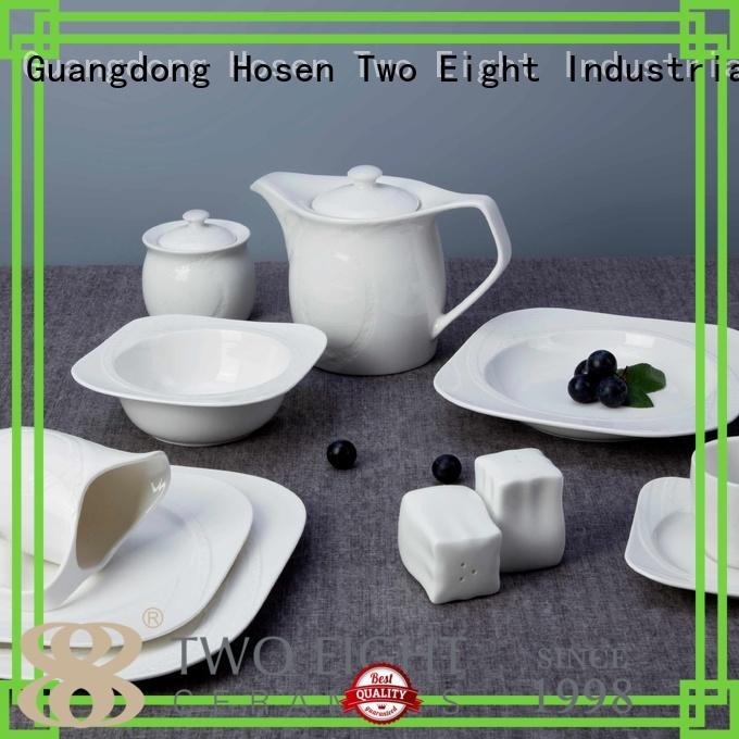 white porcelain tableware sample quan Bulk Buy plate Two Eight