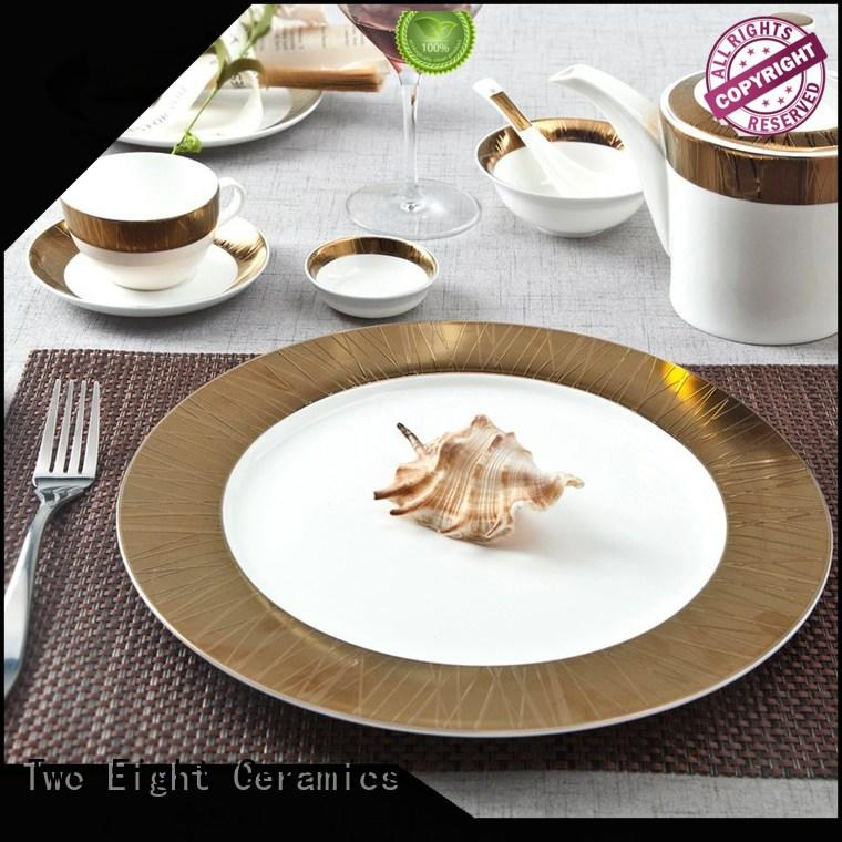 embossed restaurant plates wholesale td17 personalized for teahouse