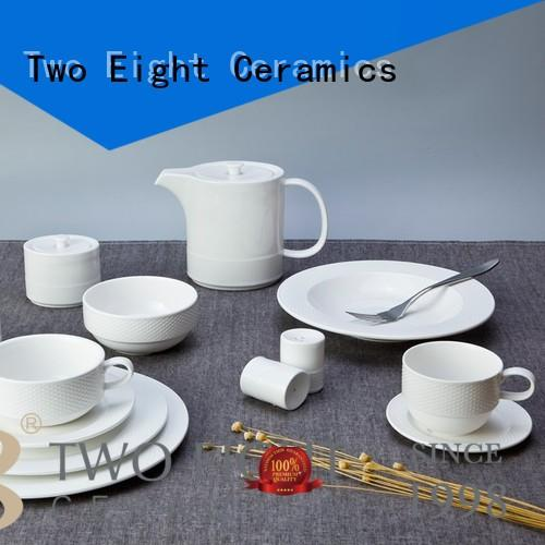 Two Eight royal vintage hotel dinnerware series for bistro