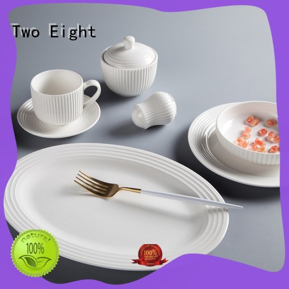 Two Eight Best high quality porcelain dinnerware Suppliers for bistro