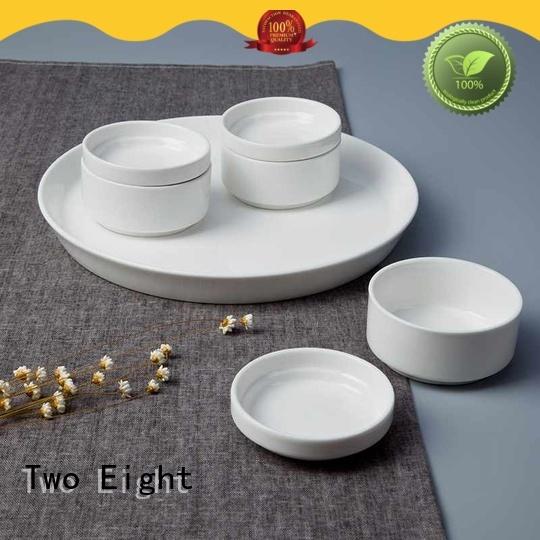 Custom white bone china factory for bistro