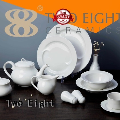 quan hotel white porcelain tableware Two Eight manufacture