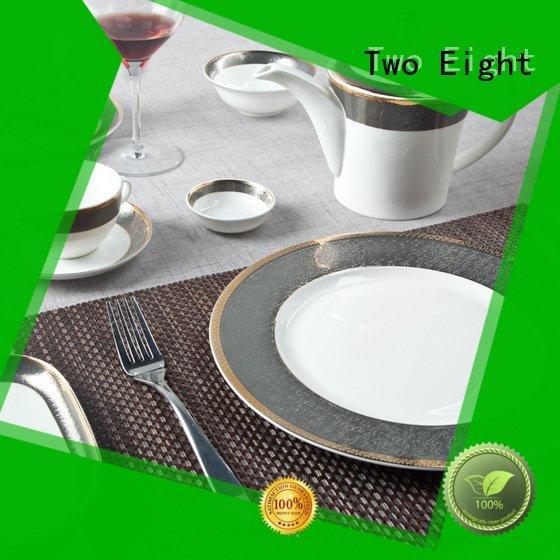 elegant fine china tea sets Two Eight fine white porcelain dinnerware