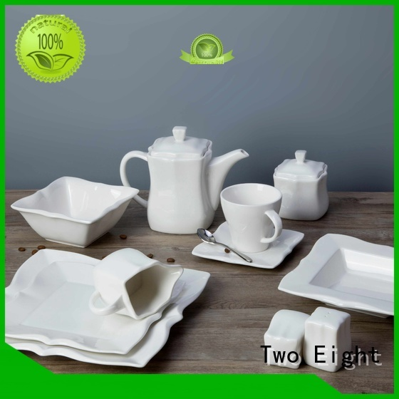 bulk dinnerware porcelain sets series for bistro Two Eight