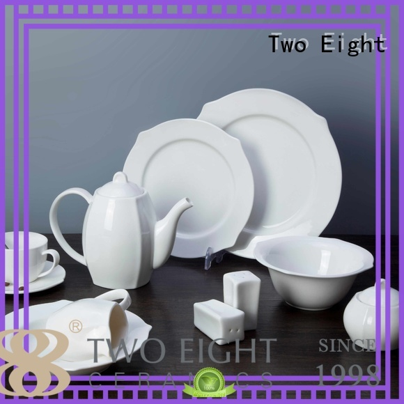 rim white china dinnerware sets sample for kitchen Two Eight