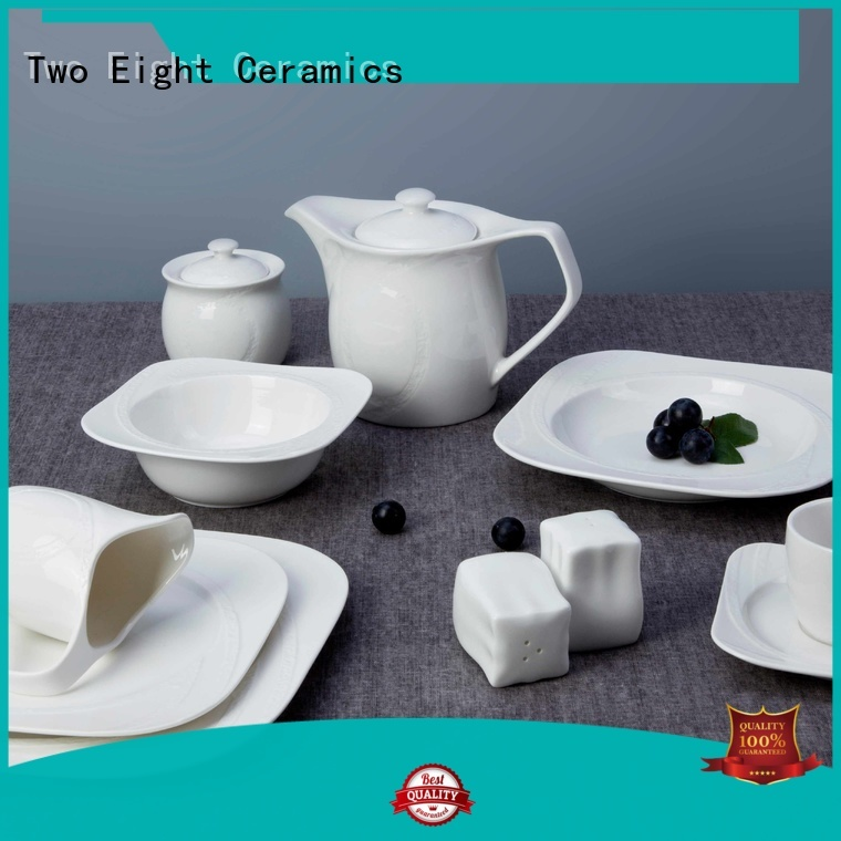 Two Eight modern commercial china dinnerware directly sale for dinner