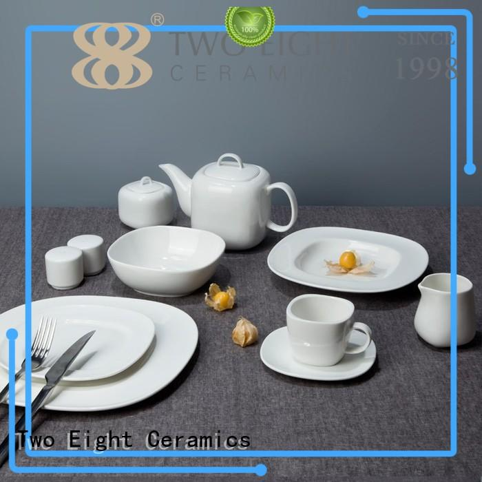 Two Eight elegant restaurant china dinnerware series for restaurant