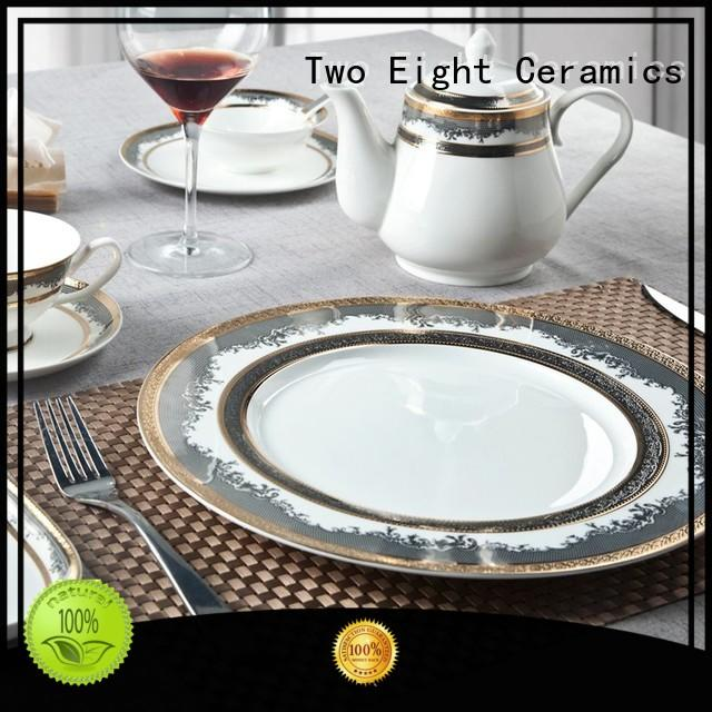 Two Eight tableware restaurant tableware factory price for dinning room