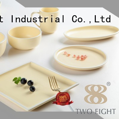 Hot blue two eight ceramics color round Two Eight Brand