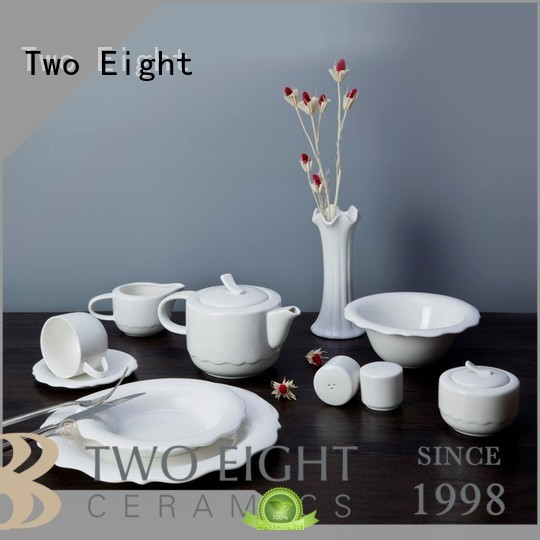 durable small white porcelain plates directly sale for dinning room
