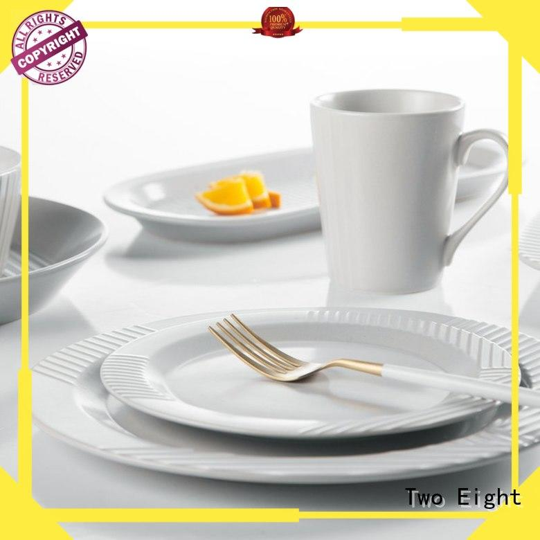 Two Eight elegant restaurant tableware supplies from China for hotel