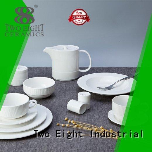 Two Eight white dinner sets dinner style porcelain german