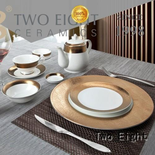 Two Eight royalty cheap restaurant dinnerware wholesale for home