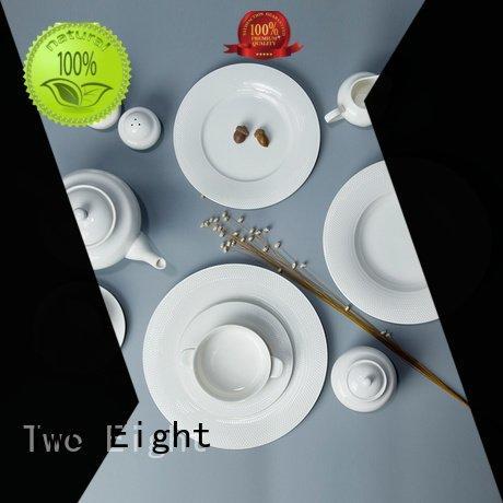 Two Eight Brand dinnerware white porcelain tableware wang vietnamese