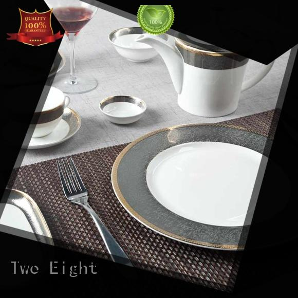 Two Eight elegant fine porcelain china factory price for hotel