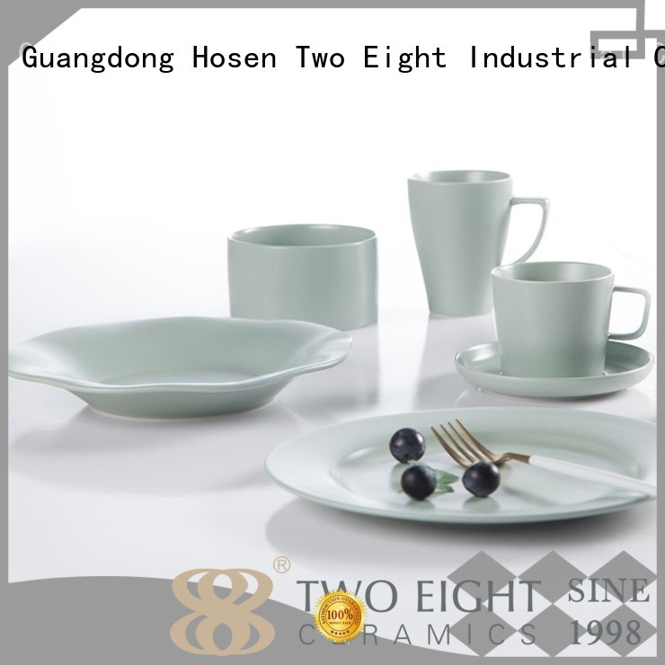Two Eight Brand line country 16 piece porcelain dinner set