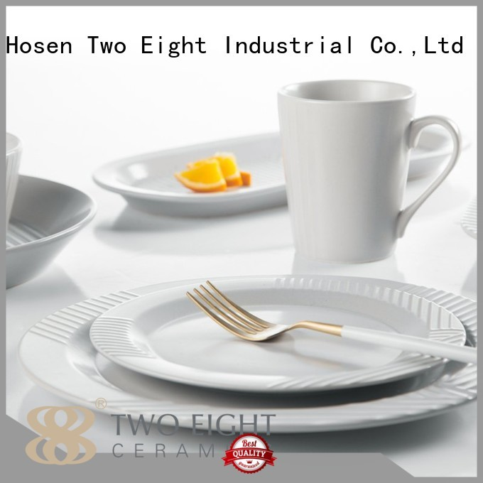 ping color 16 piece porcelain dinner set Two Eight Brand