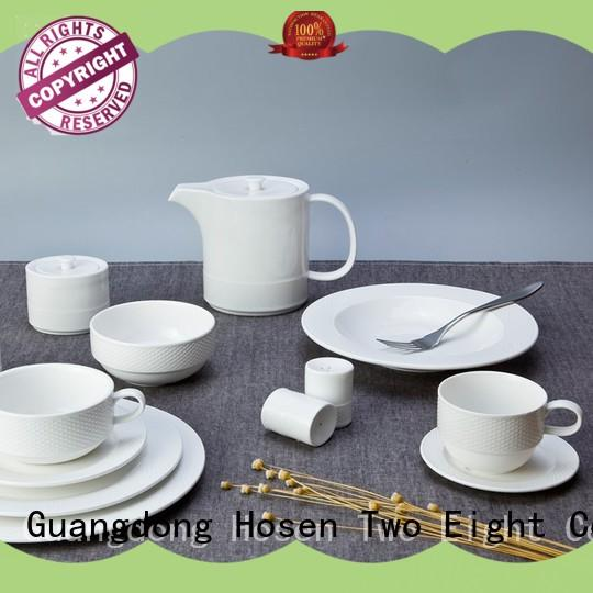 Two Eight simply restaurant grade plates from China for restaurant
