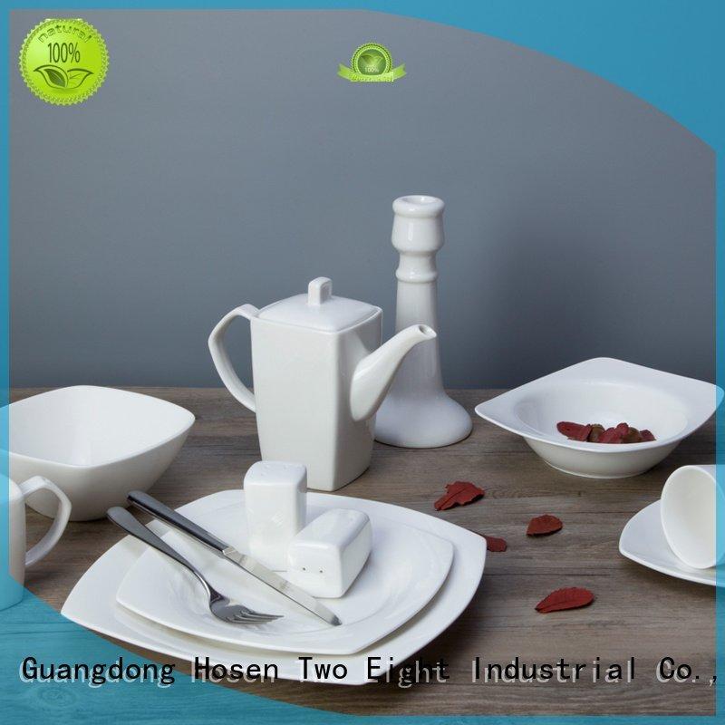 wang white dinner sets Two Eight white porcelain tableware