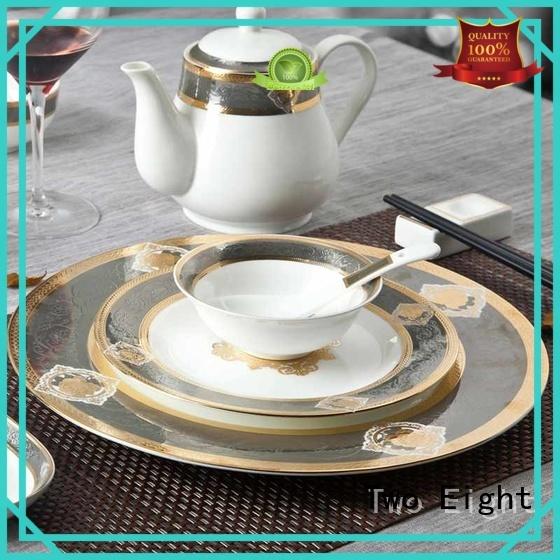 Two Eight Brand italian porcelain mixed fine white porcelain dinnerware