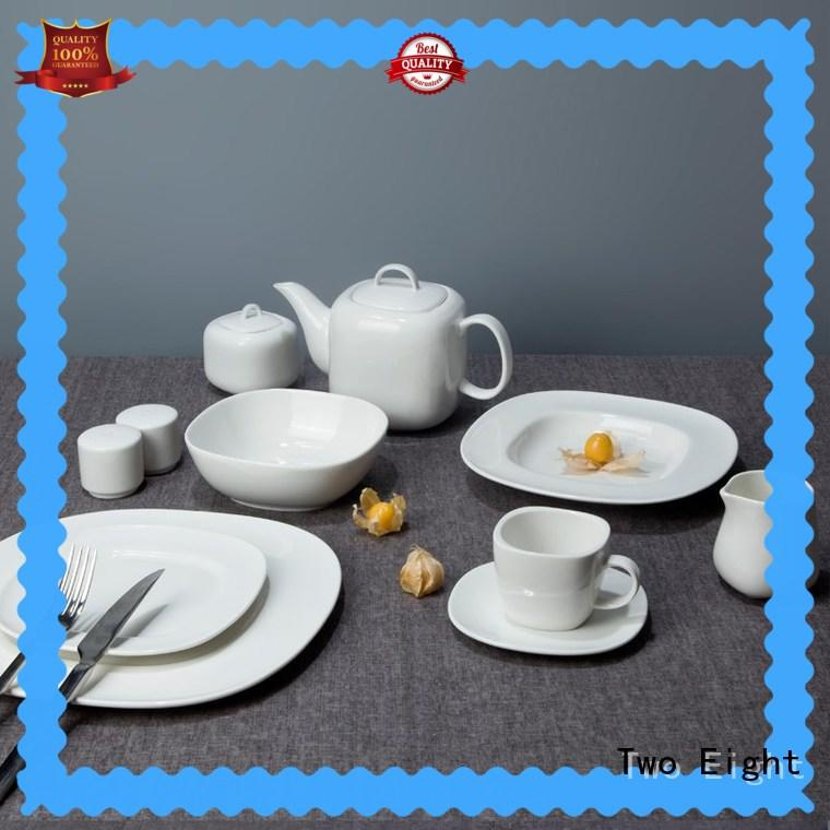 Two Eight fashion chinese porcelain dinnerware sets stock for hotel