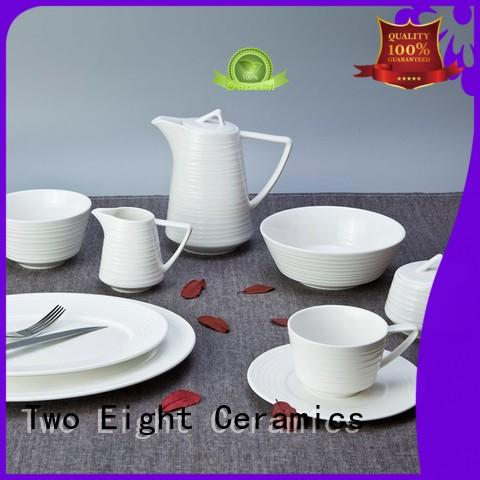 Two Eight Italian style hotel crockery online india series for kitchen