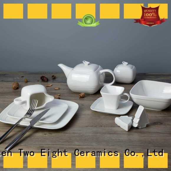 Two Eight fashion restaurant dinner plates cheap directly sale for dinning room