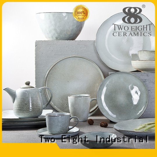 cai blue and white porcelain hotel simple Two Eight