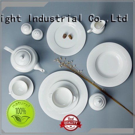 white porcelain tableware casual french Two Eight Brand company