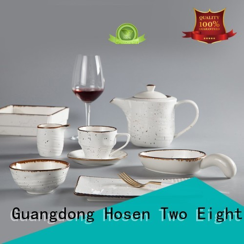 Two Eight German style best french porcelain dinnerware directly sale for dinner