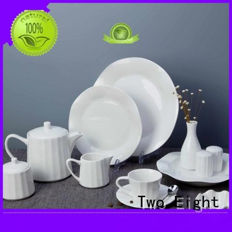 casual high quality porcelain dinnerware Italian style directly sale for hotel