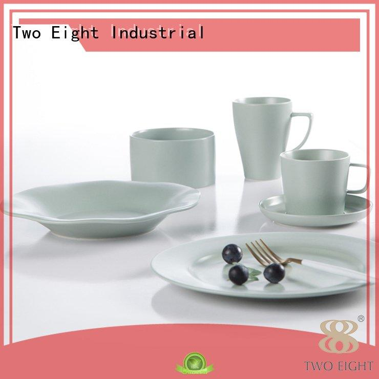 Two Eight Brand porcelain lines 16 piece porcelain dinner set oragne classic
