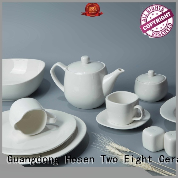 Two Eight royal cheap porcelain dinnerware from China for kitchen