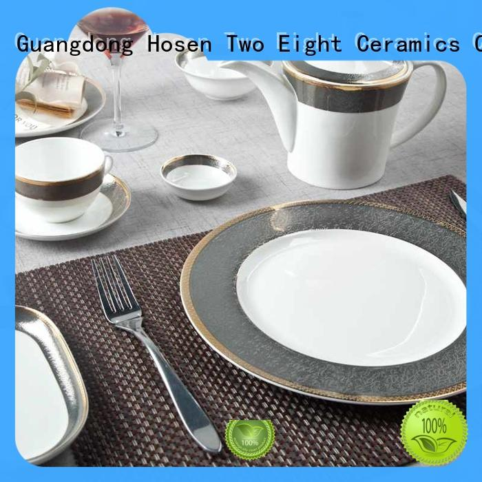 Two Eight mixed cheap restaurant dinnerware wholesale for teahouse