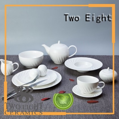 contemporary restaurant quality dinnerware sets Two Eight