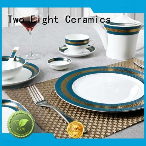 fresh restaurant chinaware supplier factory price for bistro Two Eight